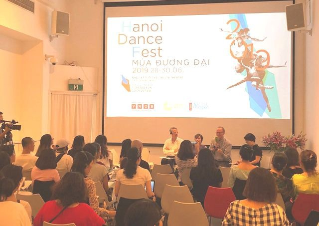 Hanoi Dance Fest: Treffen der zeitgenössischen Tanztalente im In- und Ausland - ảnh 1