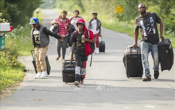 Die USA beginnen Razzien gegen nicht registrierte Migranten - ảnh 1