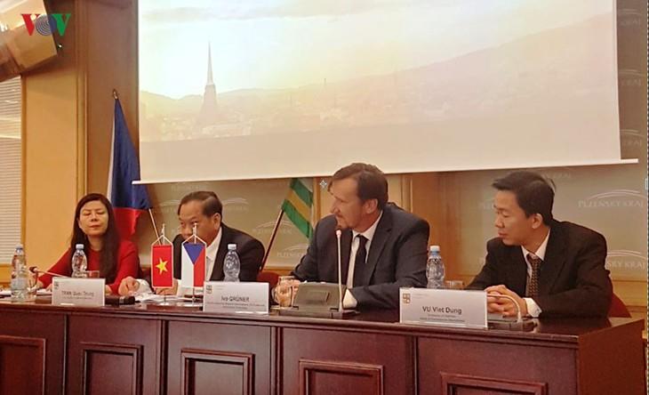 Can Tho informiert sich über die Zusammenarbeitsmöglichkeiten in Tschechien - ảnh 1