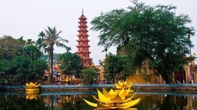 Zwei vietnamesische Pagoden zählen zu den 20 weltweit einzigartigsten buddhistischen Architektureinrichtungen - ảnh 1