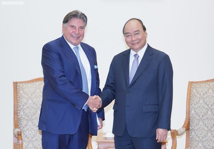 Premierminister Nguyen Xuan Phuc empfängt Vorsitzenden des TTI-Konzerns - ảnh 1