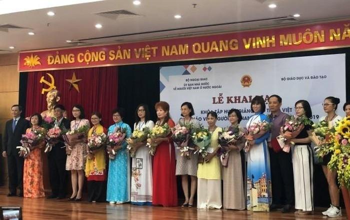 Trainingskurs zum Vietnamesischunterricht für die vietnamesischen Lehrer im Ausland - ảnh 1