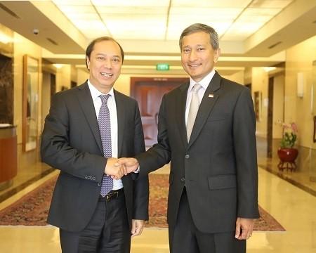 Die 12. politische Konsultation zwischen Vietnam und Singapur - ảnh 1