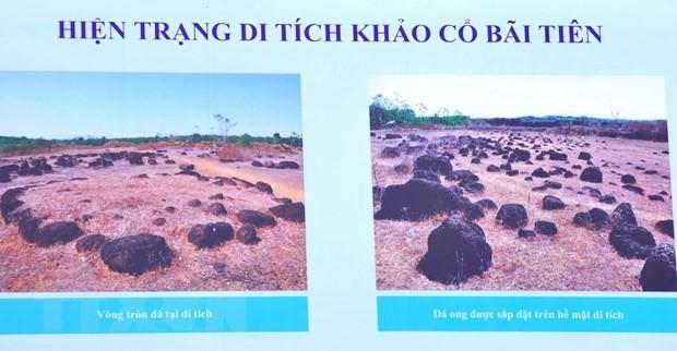 빈 프억, 록 떤 2  원형토성 유적, 국가 고고유적지 지정 - ảnh 1