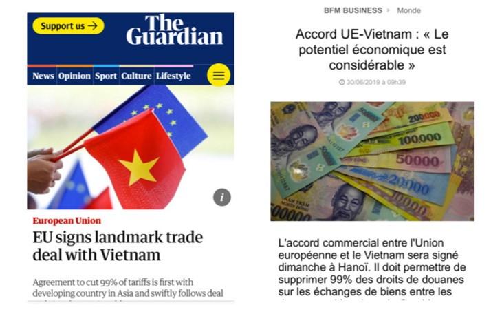 유럽언론, EVFTA는 베트남의 정치 및 통상 기회 - ảnh 1