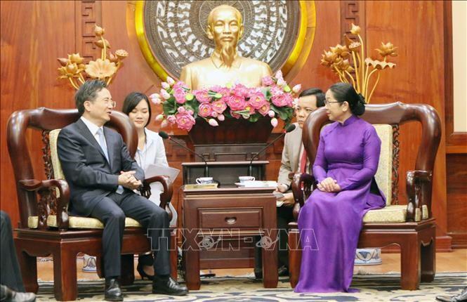 호찌민시와 중국 항저우 간의 협력 촉진 - ảnh 1