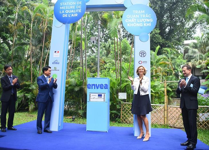 프랑스, 하노이시에 대기질관측소 열어 - ảnh 1