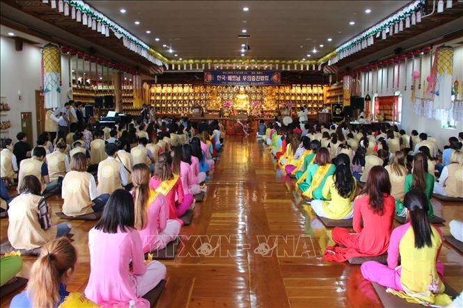 세계 각국 베트남 공동체, 혁명가정에 감사 - ảnh 1
