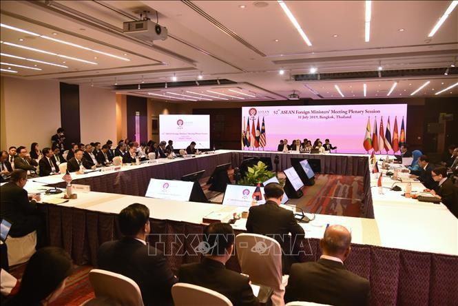 AMM-52회의, 공동성명서-동해에서의 평화와 안정 유지 및 촉진 중요성 강조 - ảnh 1