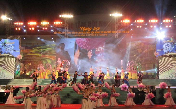 제14회 서북지역 민족 문화체육관광의 날 행사 - ảnh 1