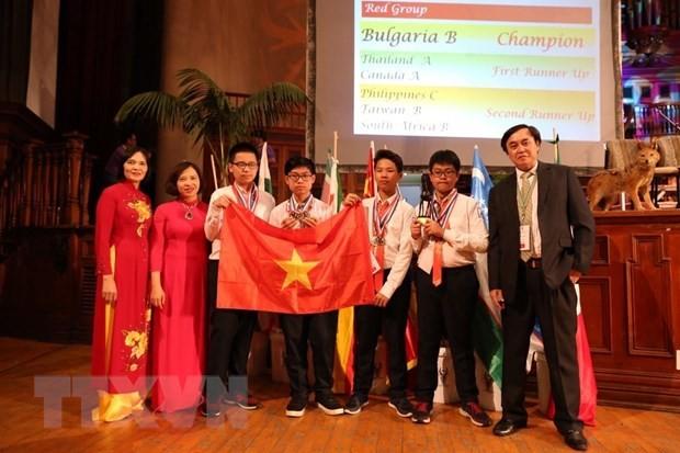 국제수학경시 대회, 베트남 5위 - ảnh 1