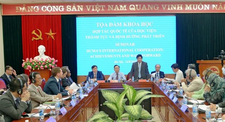 새로운 개발전략과 관련된 국제협력의 효율성 향상 - ảnh 1