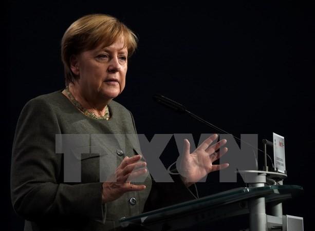 អធិការបតីអាល្លឺម៉ង់ Angela Merkel  ដណ្តើមបានជ័យជំនះក្នុងការពិភាក្សាតទល់លើទូរទស្សន៍ - ảnh 1