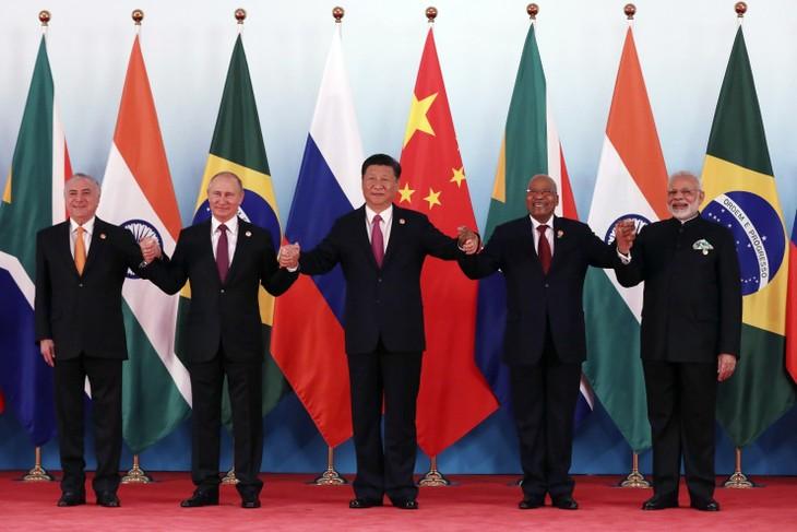 សន្និសីទកំពូល BRICS បើកជាផ្លូវការនៅចិន   - ảnh 1