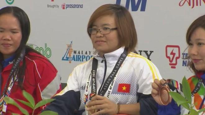 វៀតណាមមានមេដាយមាសនៅ ASEAN Para Games ២០១៧ - ảnh 1