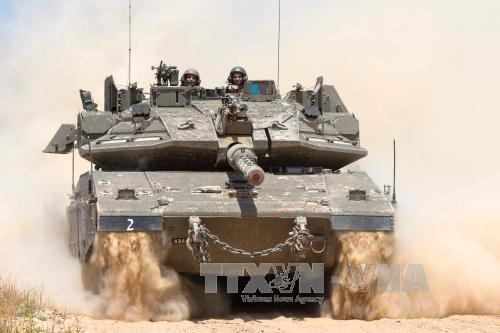 អ៊ីស្រាអែលវាយប្រហារទៅលើមូលដ្ឋានសឹករបស់ Hamas  - ảnh 1