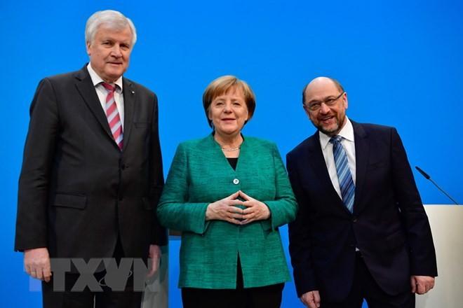 ថ្នាក់ដឹកនាំសម្ព័ន្ធគណបក្ស CDU/CSU និងគណបក្ស SPD ជួបជុំគ្នា - ảnh 1