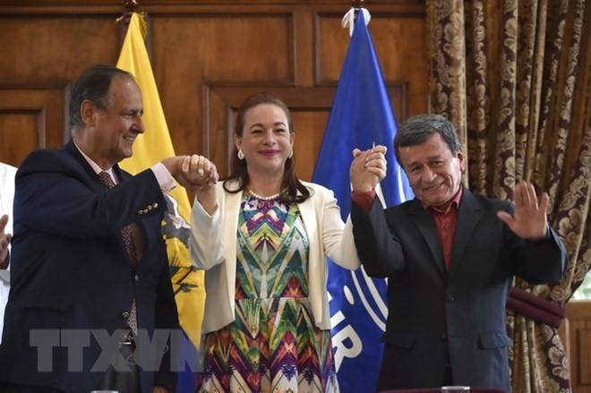 រដ្ឋាភិបាលកូឡុំប៊ីនិង ELN ចាប់ផ្តើមការចរចាសន្តិភាពឡើងវិញនៅ Ecuador  - ảnh 1