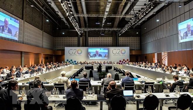 សន្និសីទ G-20៖ បណ្ដាប្រទេសមានសុទិដ្ឋិនិយមអំពីយថាទស្សន៍សេដ្ឋកិច្ចសកលអំពាវនាវជំរុញពាណិជ្ជកម្មសេរី - ảnh 1