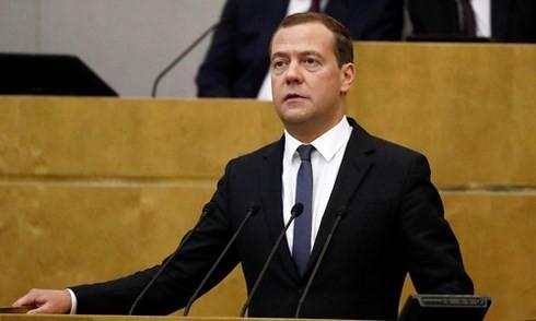សភាជាន់ទាបរុស្ស៊ីអនុម័តលើការតែងតាំងលោក Medvedev កាន់ដំណែងជានាយករដ្ឋមន្ត្រី  - ảnh 1
