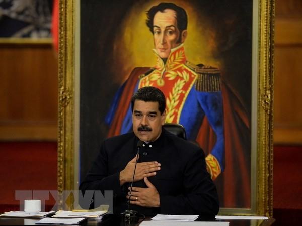 ប្រធានាធិបតីវ៉េនេស៊ុយអេឡា Nicolas Maduro ជាប់ឆ្នោតជាថ្មីម្តងទៀត  - ảnh 1