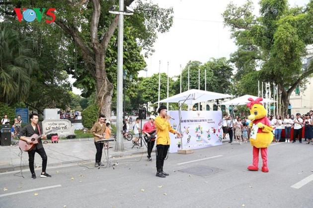 បរិយាកាស ASIAD 2018 – Palembang ឥណ្ឌូនេស៊ី នៅវៀតណាម - ảnh 4