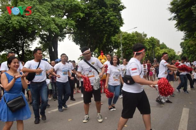 បរិយាកាស ASIAD 2018 – Palembang ឥណ្ឌូនេស៊ី នៅវៀតណាម - ảnh 6