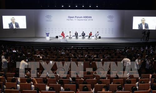 """WEF ASEAN 2018៖ វេទិកាបើកចំហក្រោមប្រធានបទ """"អាស៊ាន៤.០សម្រាប់យើងទាំងអស់គ្នា"""" - ảnh 1"""