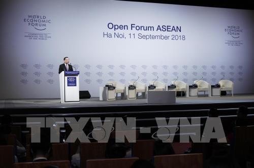 """WEF ASEAN 2018៖ វេទិកាបើកចំហក្រោមប្រធានបទ """"អាស៊ាន៤.០សម្រាប់យើងទាំងអស់គ្នា"""" - ảnh 2"""