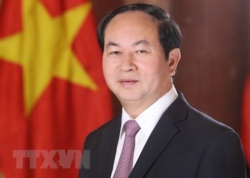 សេចក្តីប្រកាសពិសេសស្តីពីមរណភាពរបស់ប្រធានរដ្ឋវៀតណាម លោក Tran Dai Quang - ảnh 1