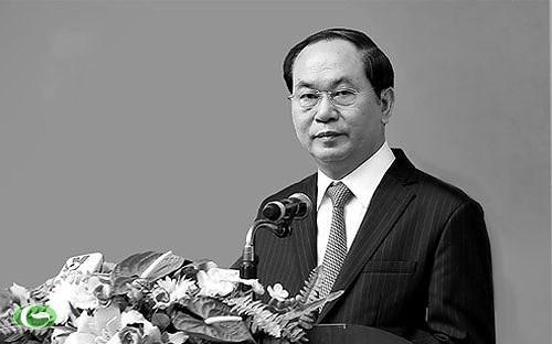 ថ្នាក់ដឹកនាំប្រទេសជាច្រើនផ្ញើរសារទូរលេខចូលរួមរំលែកទុក្ខចំពោះមរណភាពរបស់ប្រធានរដ្ឋវៀតណាមលោក Tran Dai Quang - ảnh 1