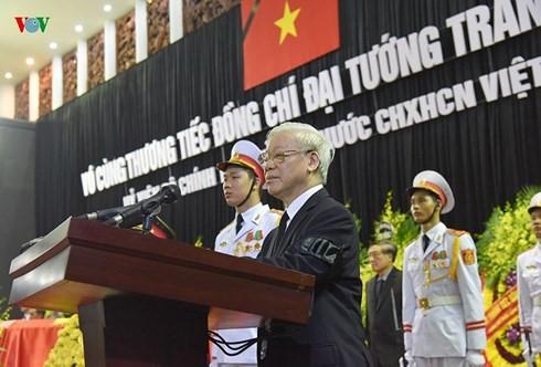 ពិធីរំលឹកវិញ្ញាណក្ខ័ន្ធលោកប្រធានរដ្ឋវៀតណាម Tran Dai Quang បានប្រារព្ធយ៉ាងមហោឡារិក - ảnh 2