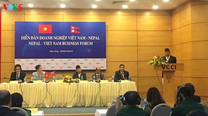 Forum d'affaires Vietnam - Népal - ảnh 1