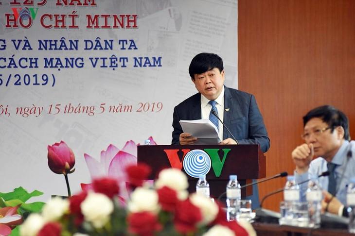 """VOV stellt drei Bücher über """"Ho Chi Minh und die Presse"""" vor - ảnh 1"""