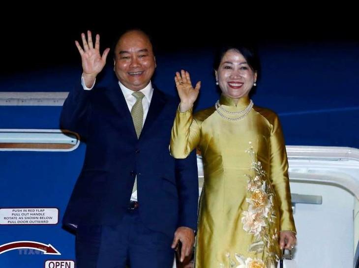 នាយករដ្ឋមន្ត្រីវៀតណាម លោក Nguyen Xuan Phuc បានបញ្ចប់ប្រកបដោយជោគជ័យដំណើរចូលរួមកិច្ចប្រជុំកំពូល G20 និងទស្សនកិច្ចនៅជប៉ុន - ảnh 1