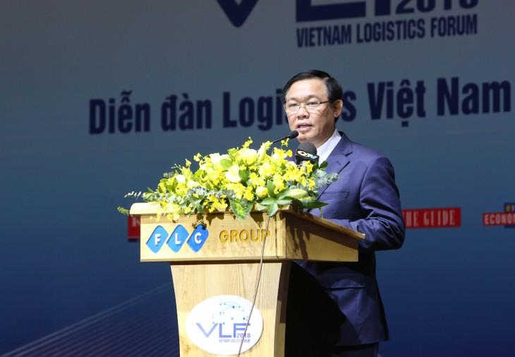 ឧបនាយករដ្ឋមន្ត្រីវៀតណាមលោក Vuong Dinh Hue៖ លើកកំពស់សមត្ថភាព ប្រកួតប្រជែងនិងអភិវឌ្ឍសេវាកម្ម logistics - ảnh 1