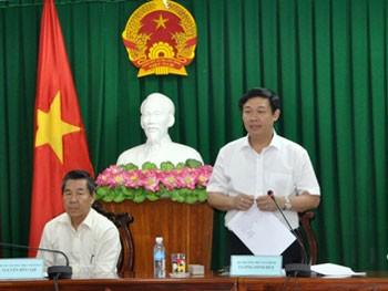 គណៈកម្មាធិការសេដ្ឋកិច្ចមជ្ឈឹមជួបធ្វើការជាមួយគណៈកម្មាធិការទទួលបន្ទុកតំបន់ Tay Nguyen  - ảnh 1