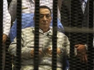 អតីតប្រធានាធិបតីអេហ្ស៊ីប Hosni Mubarak ត្រូវបានដោះលែង - ảnh 1