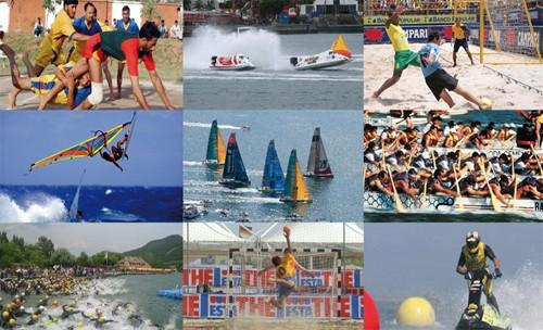 វៀតណាមទទួលទង់ទទួលរៀបចំ ASIAN Beach Games 2016 - ảnh 1