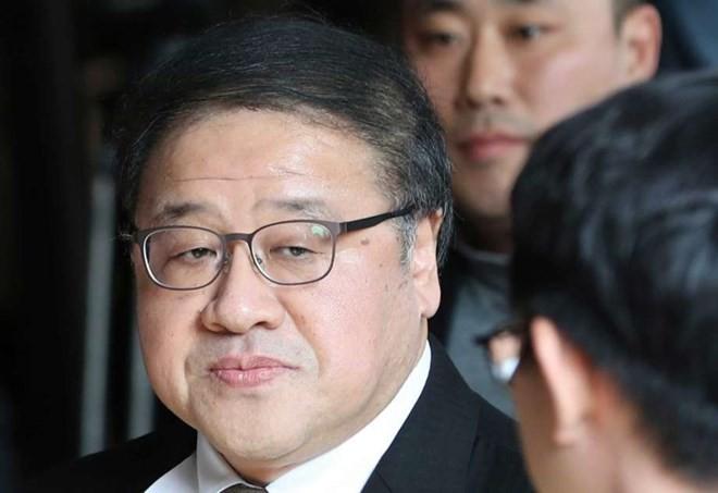 កូរ៉ែខាងត្បូងចាប់ឃុំខ្លួនអតីតលេខាធិការរបស់ប្រធានាធិបតី លោកស្រី Park Geun-hye  - ảnh 1