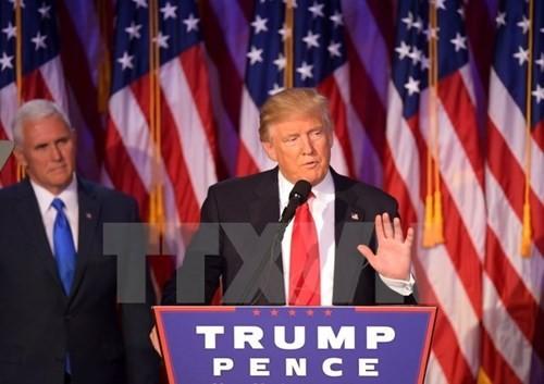 ប្រធានាធិបតីជាប់ឆ្នោតអាមេរិកលោក D. Trump លើកឡើងអទិភាពនានាក្នុងគោលនយោបាយកិច្ចការផ្ទៃក្នុង - ảnh 1
