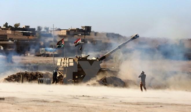 កងកំលាំងអ៊ីរាក់ទទួលបានការបោះជំហានថ្មីៗនៅទីក្រុង Mosul - ảnh 1