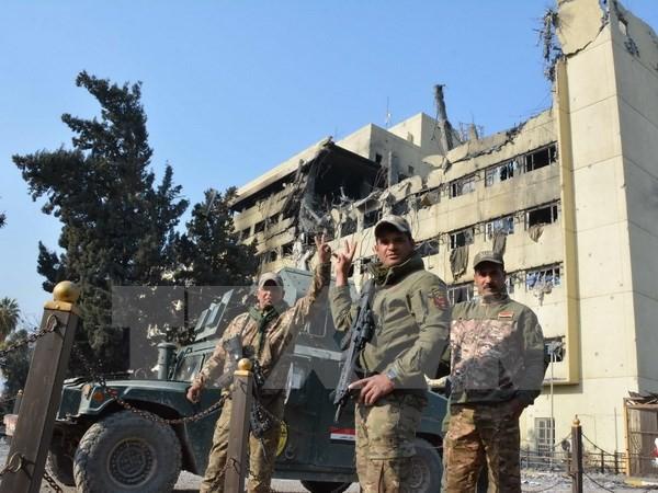 កំលាំងអ៊ីរ៉ាក់ចូលជ្រៅទៅក្នុងទីតាំងរបស់ IS នៅទីក្រុង Mosul  - ảnh 1
