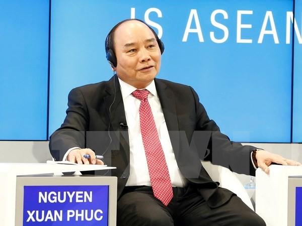 នាយករដ្ឋមន្ត្រី លោក Nguyen Xuan Phuc បញ្ចប់ប្រកបដោយជោគជ័យដំណើរទស្សនកិច្ចចូលរួម WEF លើកទី៤៧ - ảnh 1