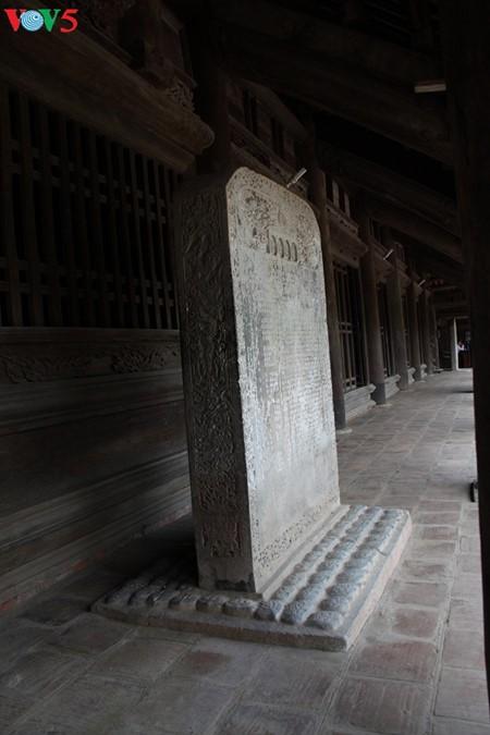 ស្ថាបត្យកម្មវិសេសវិសាលនៃវត្ត Keo នៅខេត្ត Thai Binh - ảnh 10