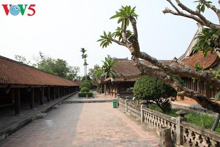 ស្ថាបត្យកម្មវិសេសវិសាលនៃវត្ត Keo នៅខេត្ត Thai Binh - ảnh 15