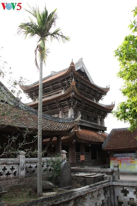 ស្ថាបត្យកម្មវិសេសវិសាលនៃវត្ត Keo នៅខេត្ត Thai Binh - ảnh 20