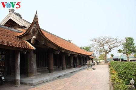 ស្ថាបត្យកម្មវិសេសវិសាលនៃវត្ត Keo នៅខេត្ត Thai Binh - ảnh 9