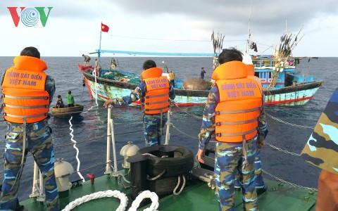 越南呼吁保障在海上作业渔民的安全 - ảnh 1