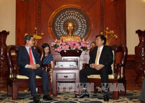 胡志明市一向为外国投资者创造一切便利条件 - ảnh 1